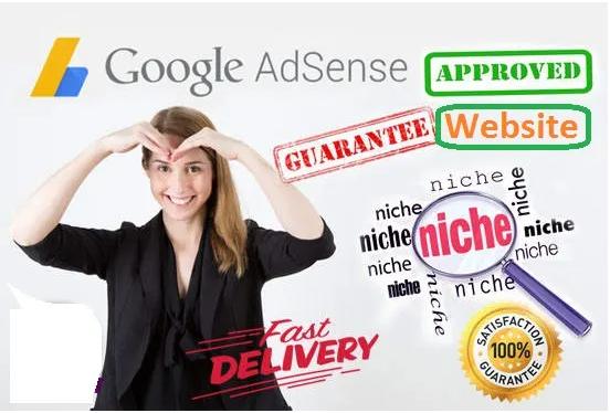 I will design complete website for google adsense approval