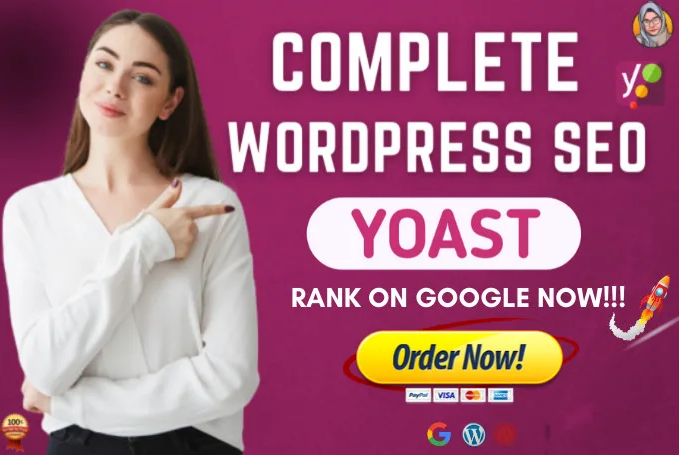 I will do on page SEO and technical onpage optimization of wordpress website with yoast