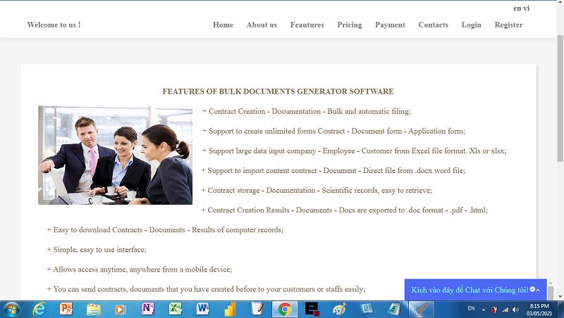 Generator document software - Auto Office Tool