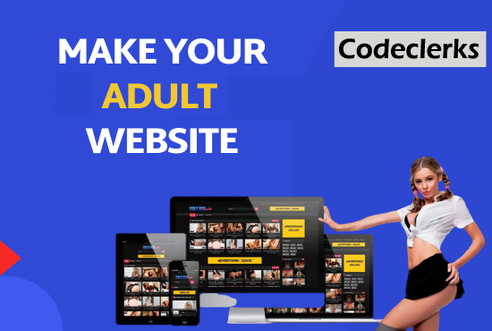I will build professional adult website