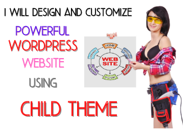 Setup wordpress theme,  child theme,  and customization