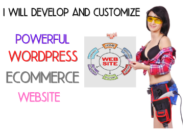 I will develop a wordpress ecommerce website