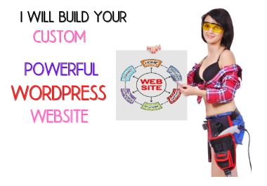 Build your custom powerful website as you want