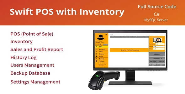 Swift POS with Inventory System