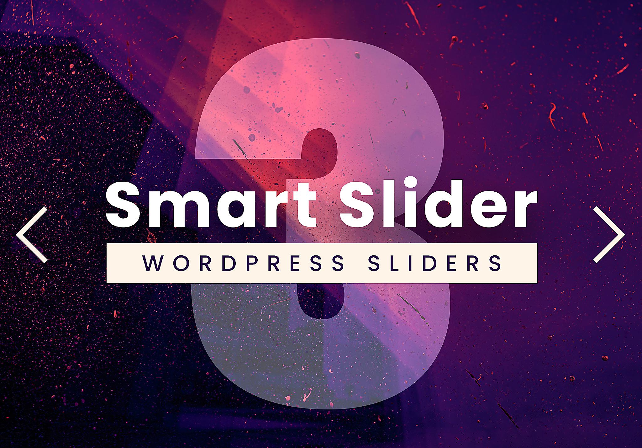 Creating responsive WordPress sliders & stunning website by Smart Slider 3