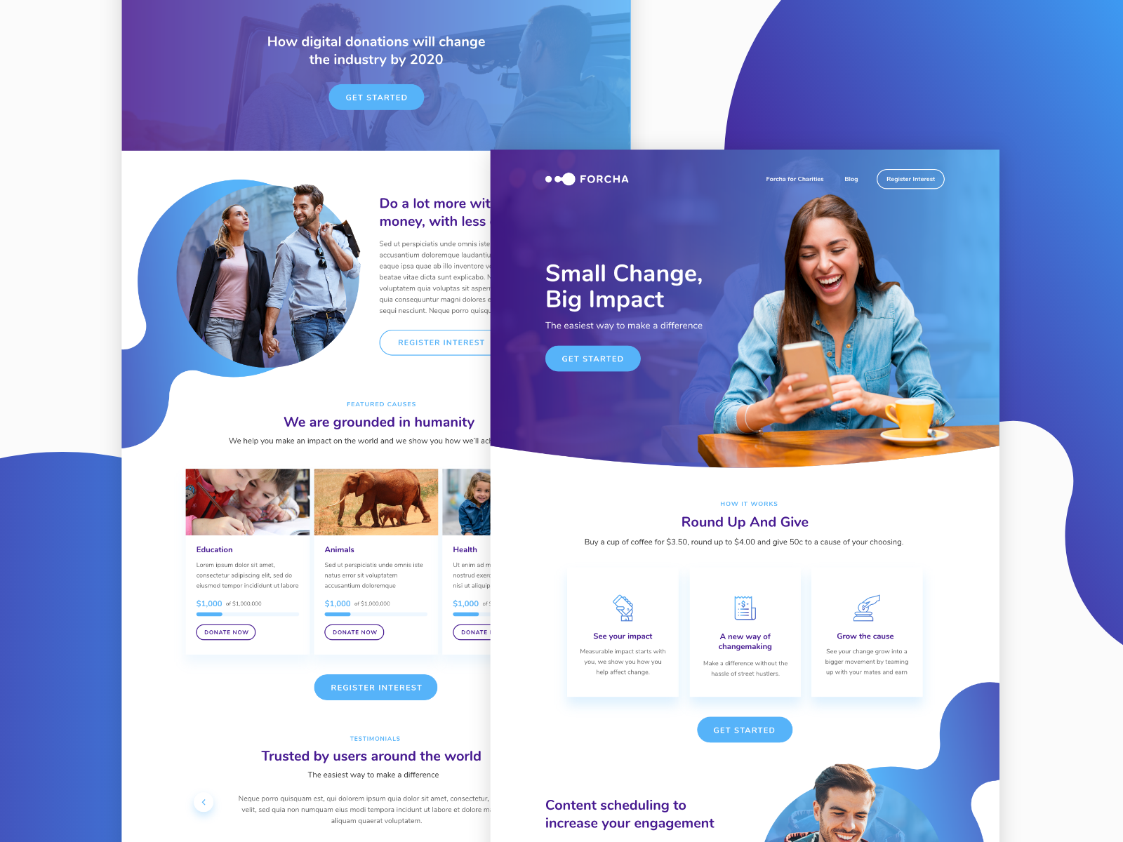 I will design landing pages and lead generation pages