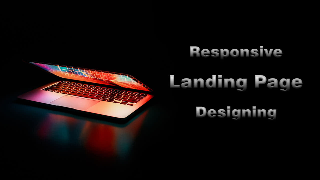 Design responsive bootstrap landing page