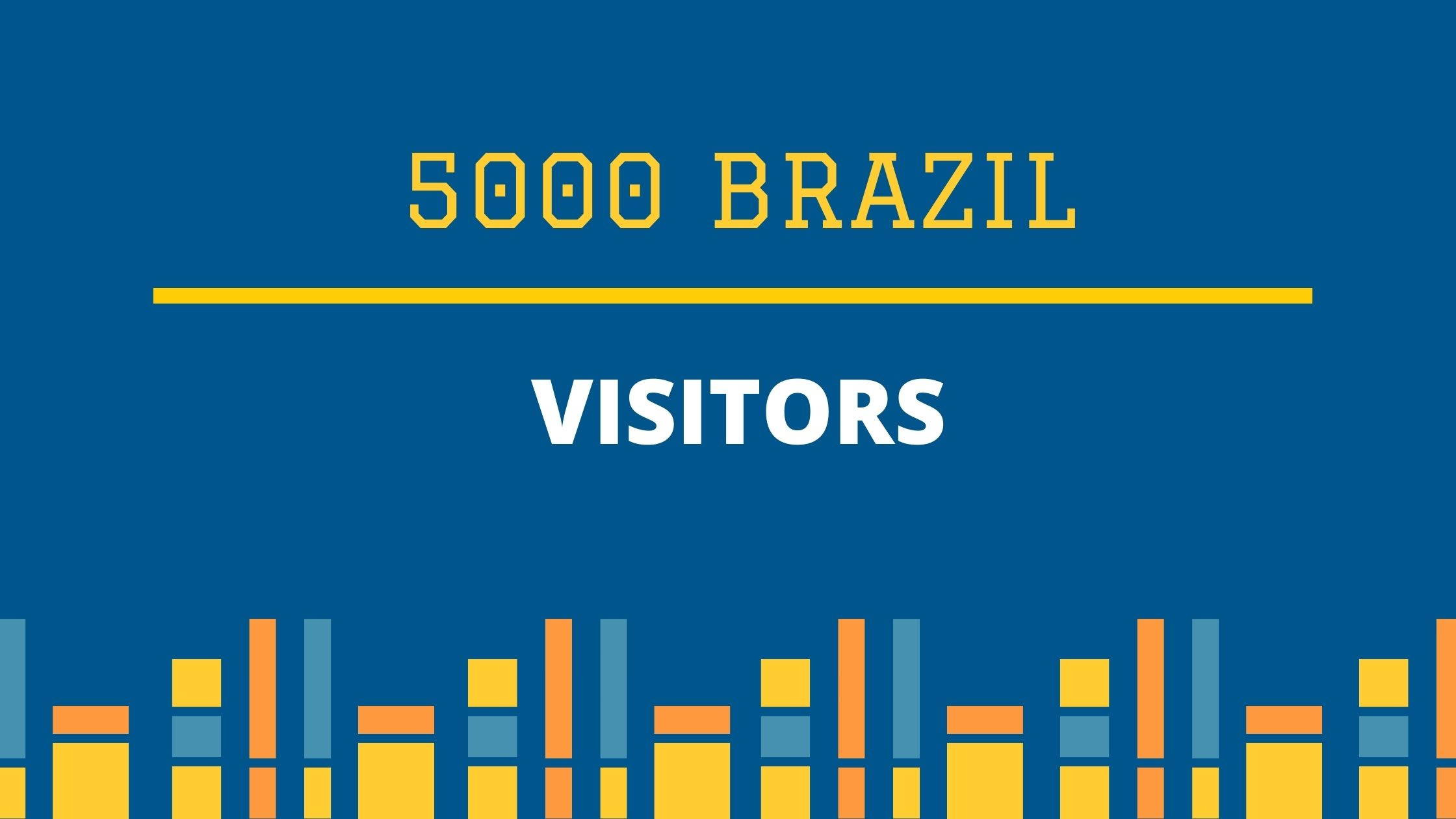 5000 Real Brazil visitors for boost your website