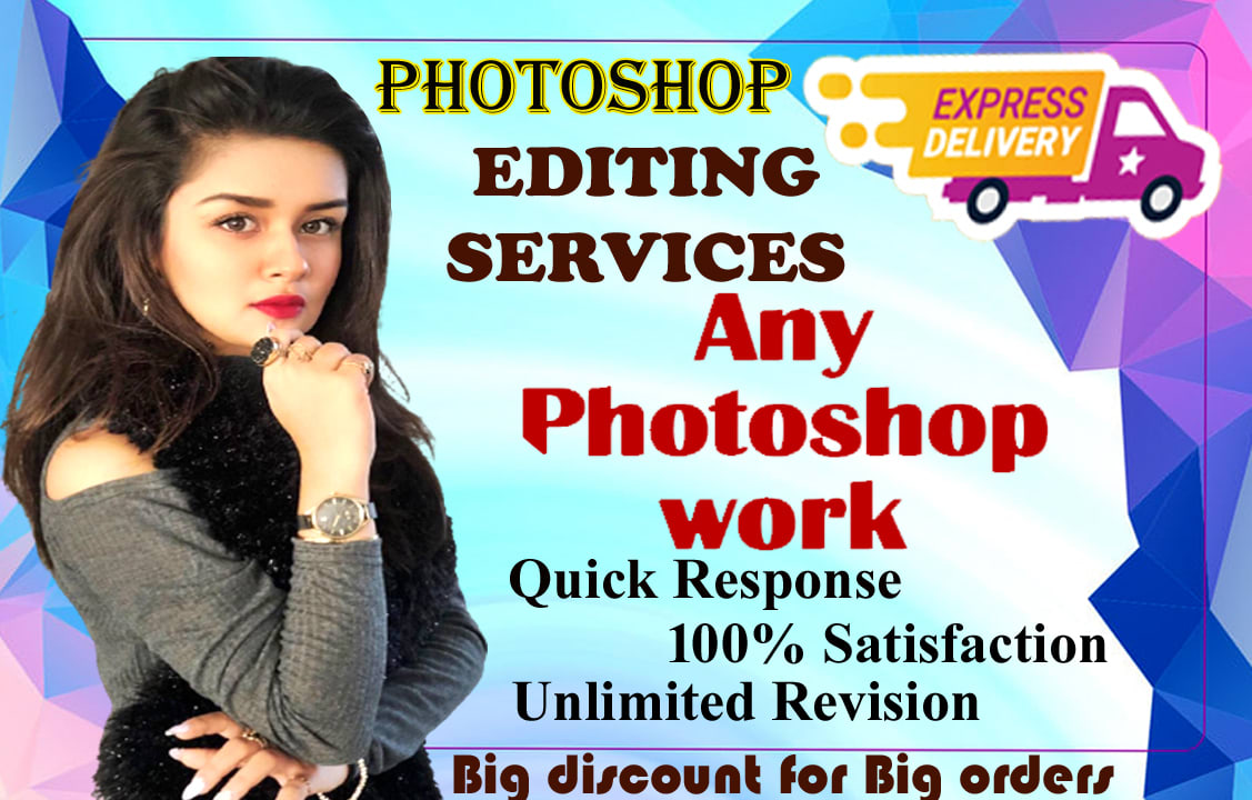 I will do any Photoshop editing job within 12 hrs