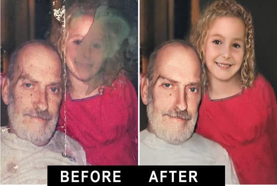 I will restore damaged photos,  colorize,  fix pictures