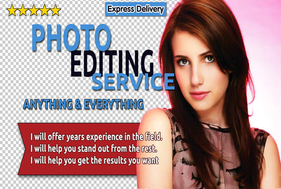 I will professionally edit your images in Photoshop within 12 hrs