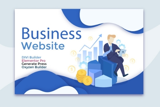 Wordpress business website I will design