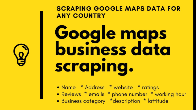 I will do b2b leads,  google map scraping,  lead generation