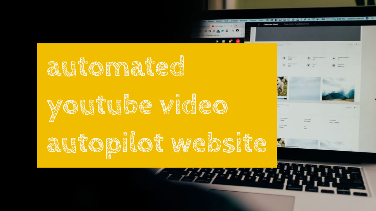 setup automated youtube video website for passive income