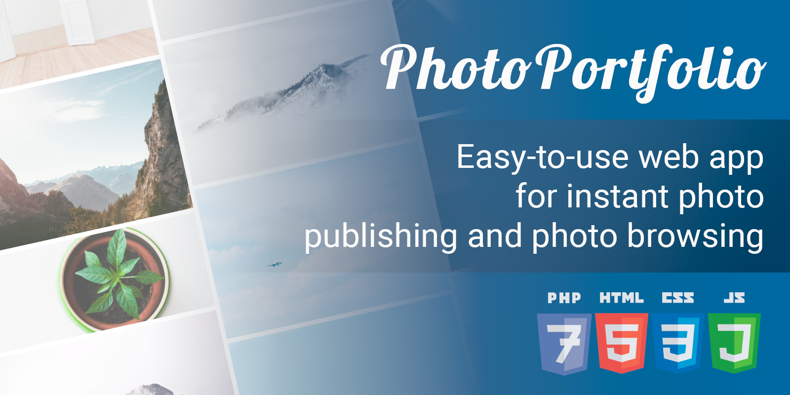 Easy-to-use web app for instant image publishing and image browsing