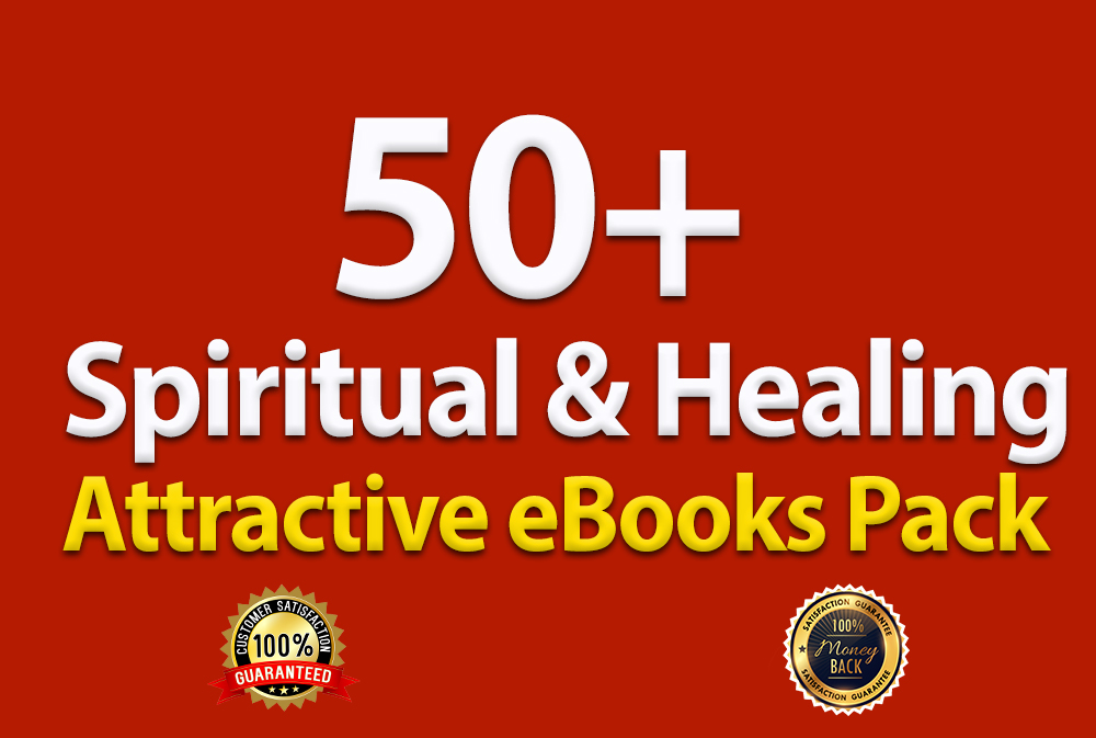 Spiritual & Healing attractive eBooks Pack for Improve your self