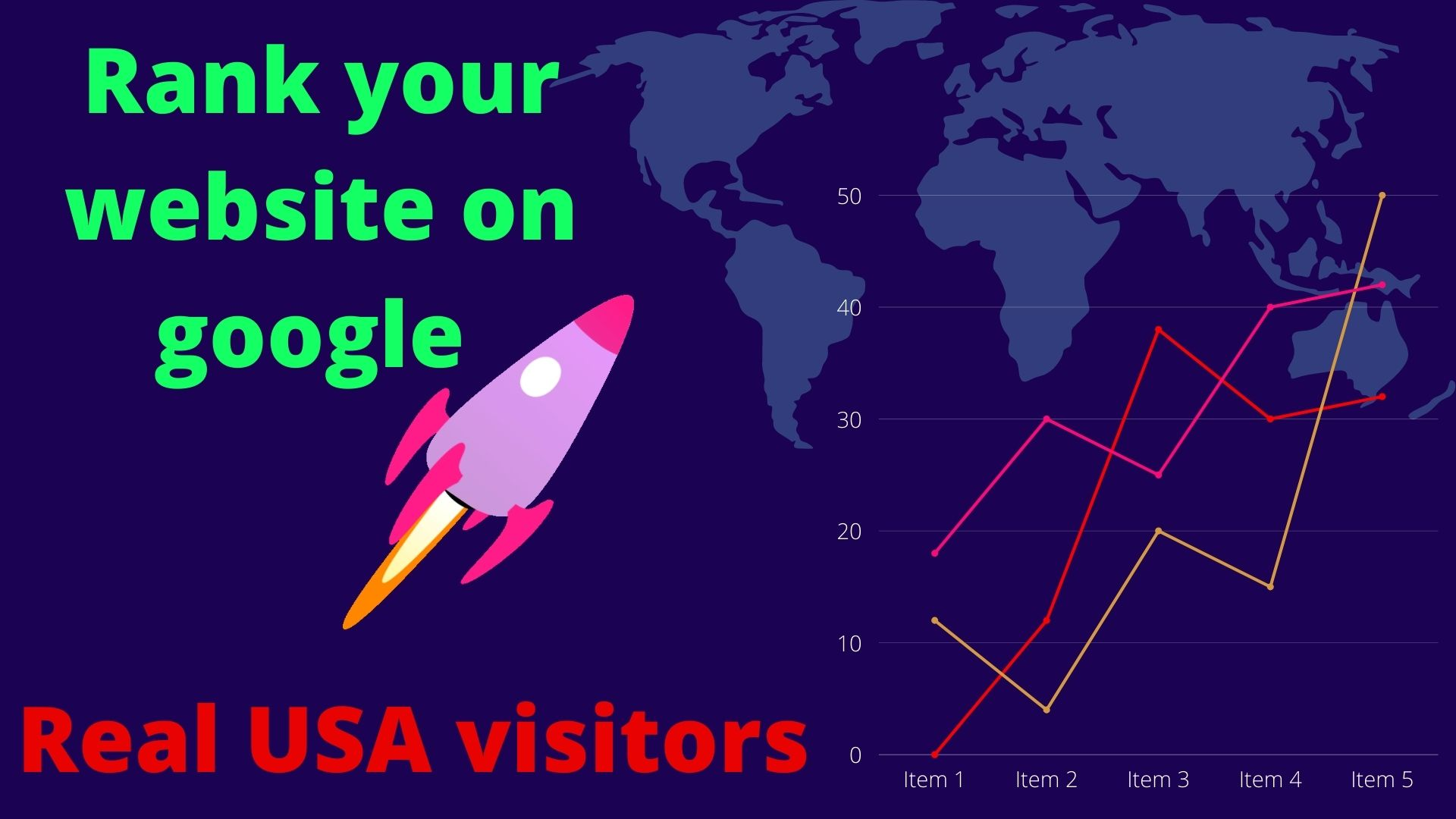 drive real genuine 8500 USA organic traffic for your website for 30days