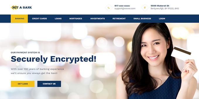 Online Banking Script Source Code