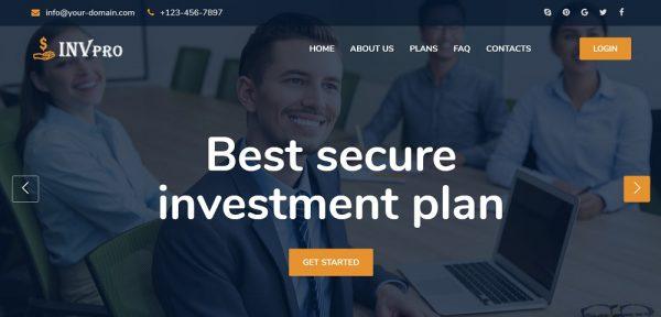 Investment Pro Investment Script