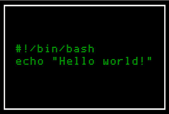 I will do bash shell scripting for you