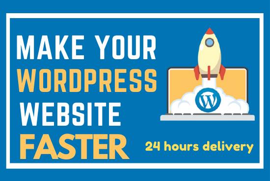 I will optimize wordpress website speed and improve google pagespeed score,  gtmetrix