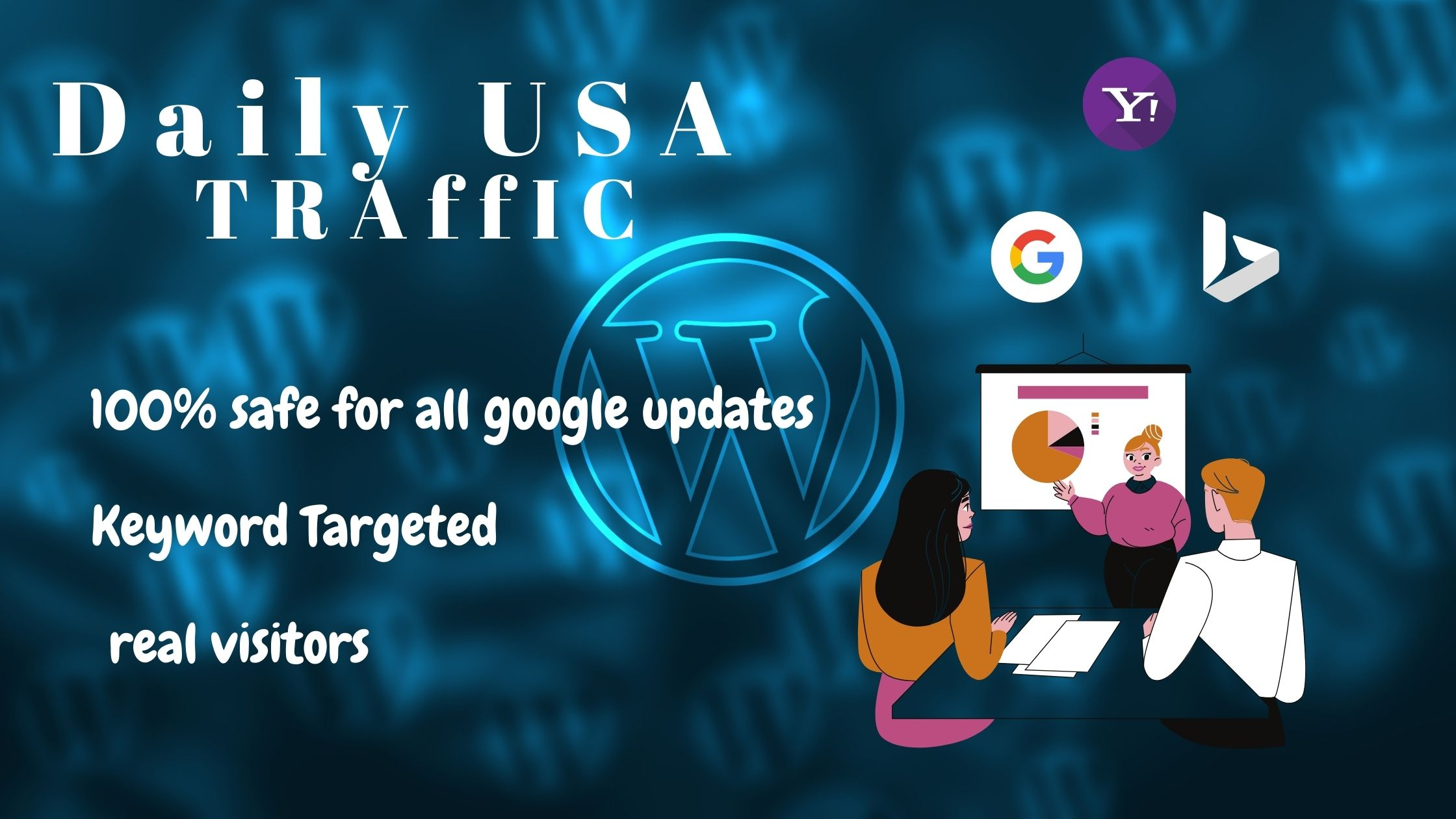 Drive Daily usa target traffic for your business