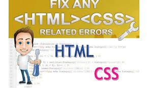 I will build design or fix any html,  CSS and bootstrap task