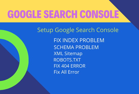 fix google index search console and schema errors fastly
