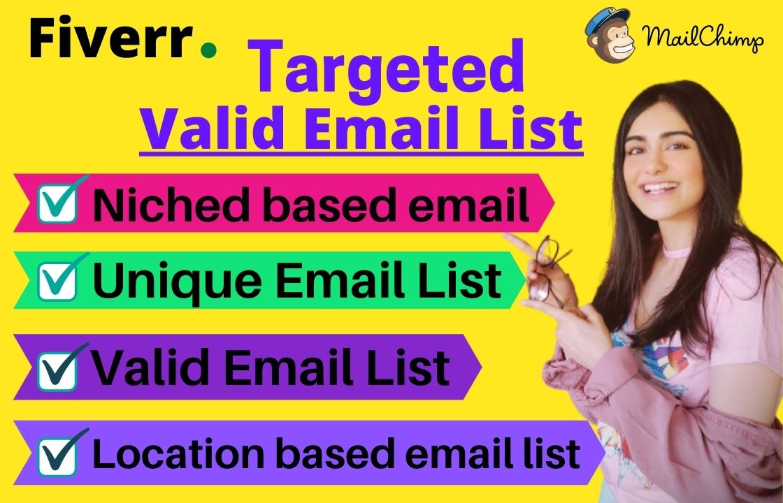 I will provide USA target email list of your business