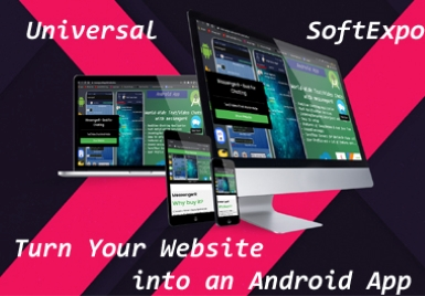 Turn Any Type of Website/Webpage/FacebookPage/Social Media Page etc into an Android APP