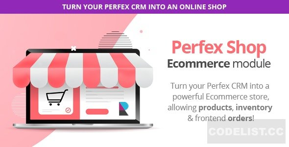 Perfex Shop module enables the ability to sell your own Products or Services,  through Customers Area