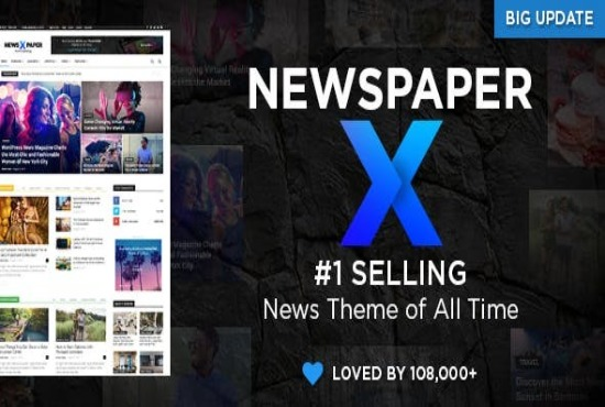 I will install newspaper X theme premium for your wordpress site