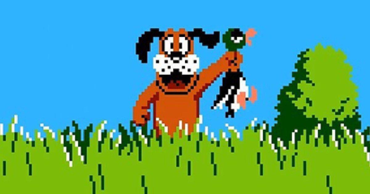 Duck Hunt legendary 1984 game