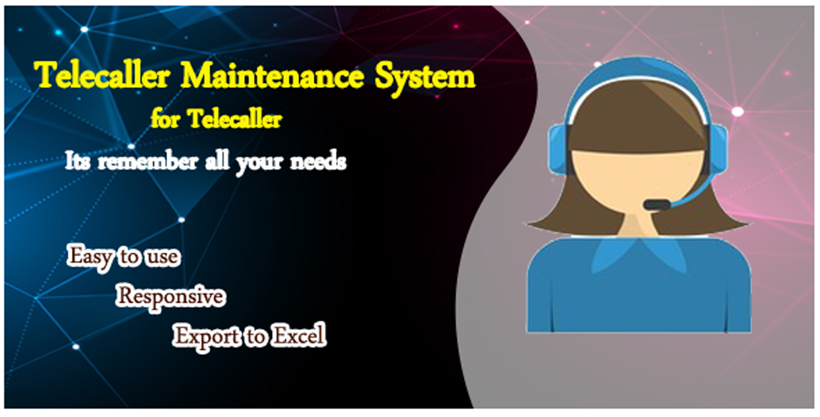 Telecaller Maintenance System In PHP and Mysql