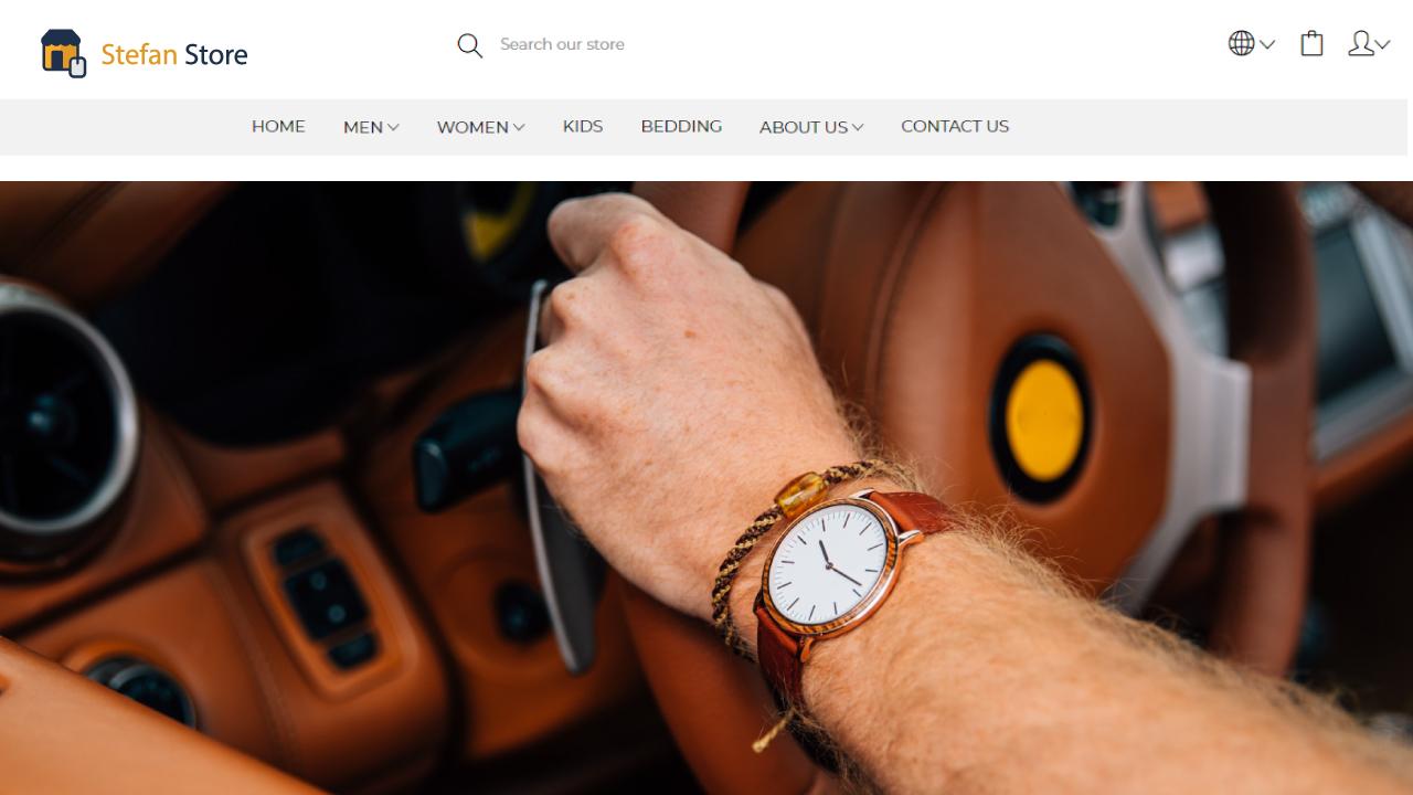 Stefan Online Store - Laravel Ecommerce Shopping Platform