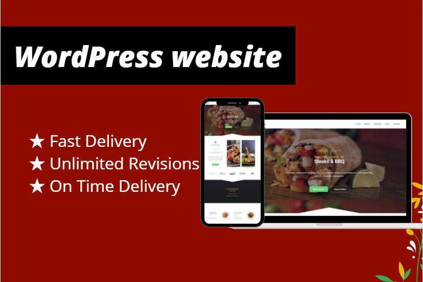 seo friendly responsive wordpress website design
