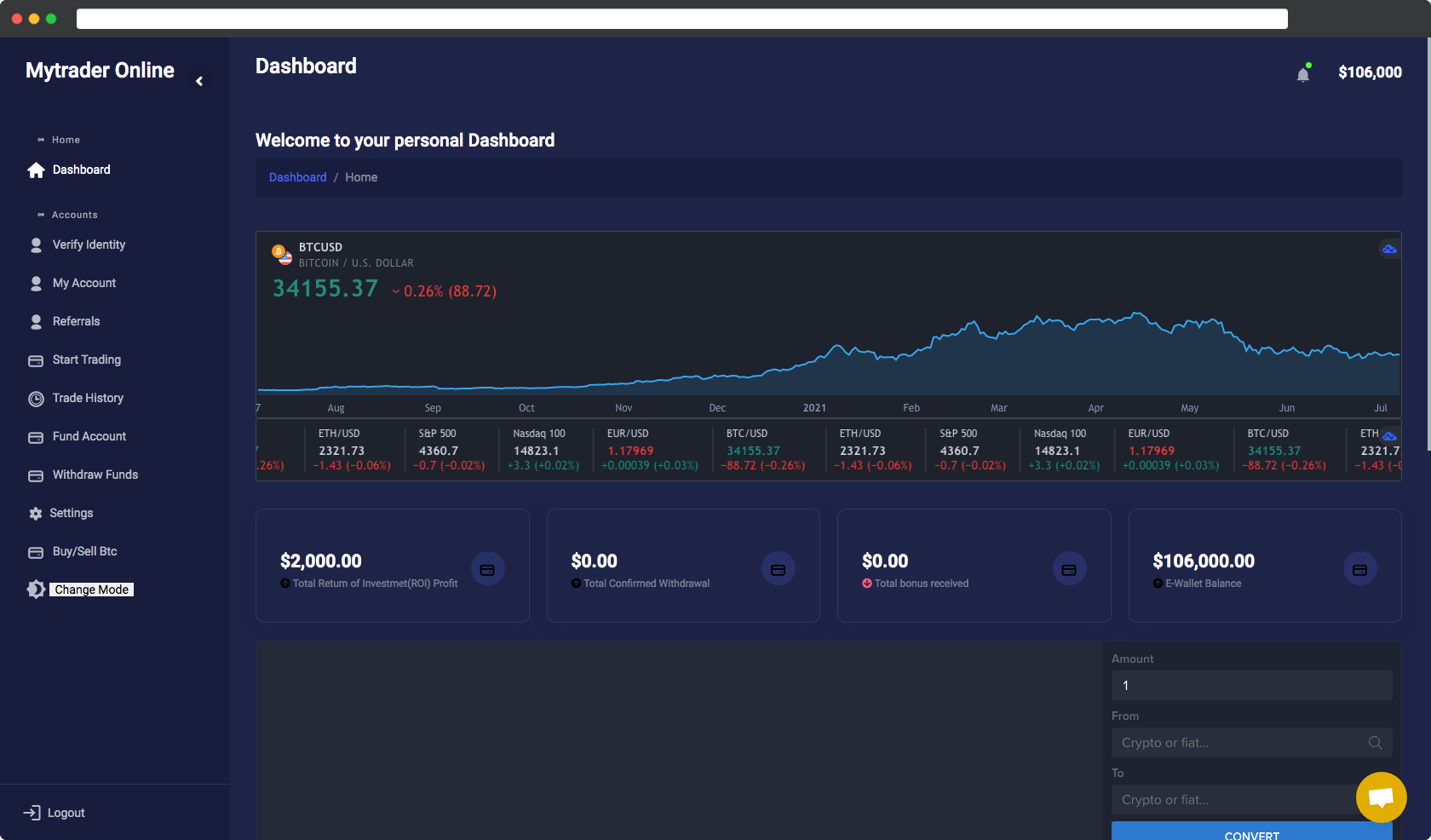 TraderOnline- Your number Investment and Trading Management System