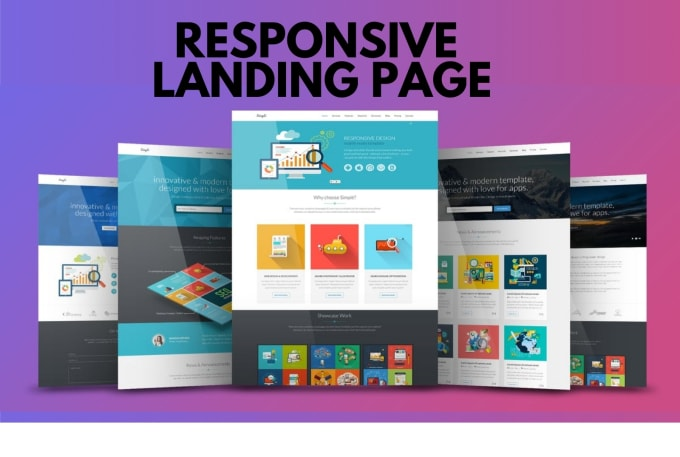 I Will Design Responsive WordPress Landing Page (Elementor)