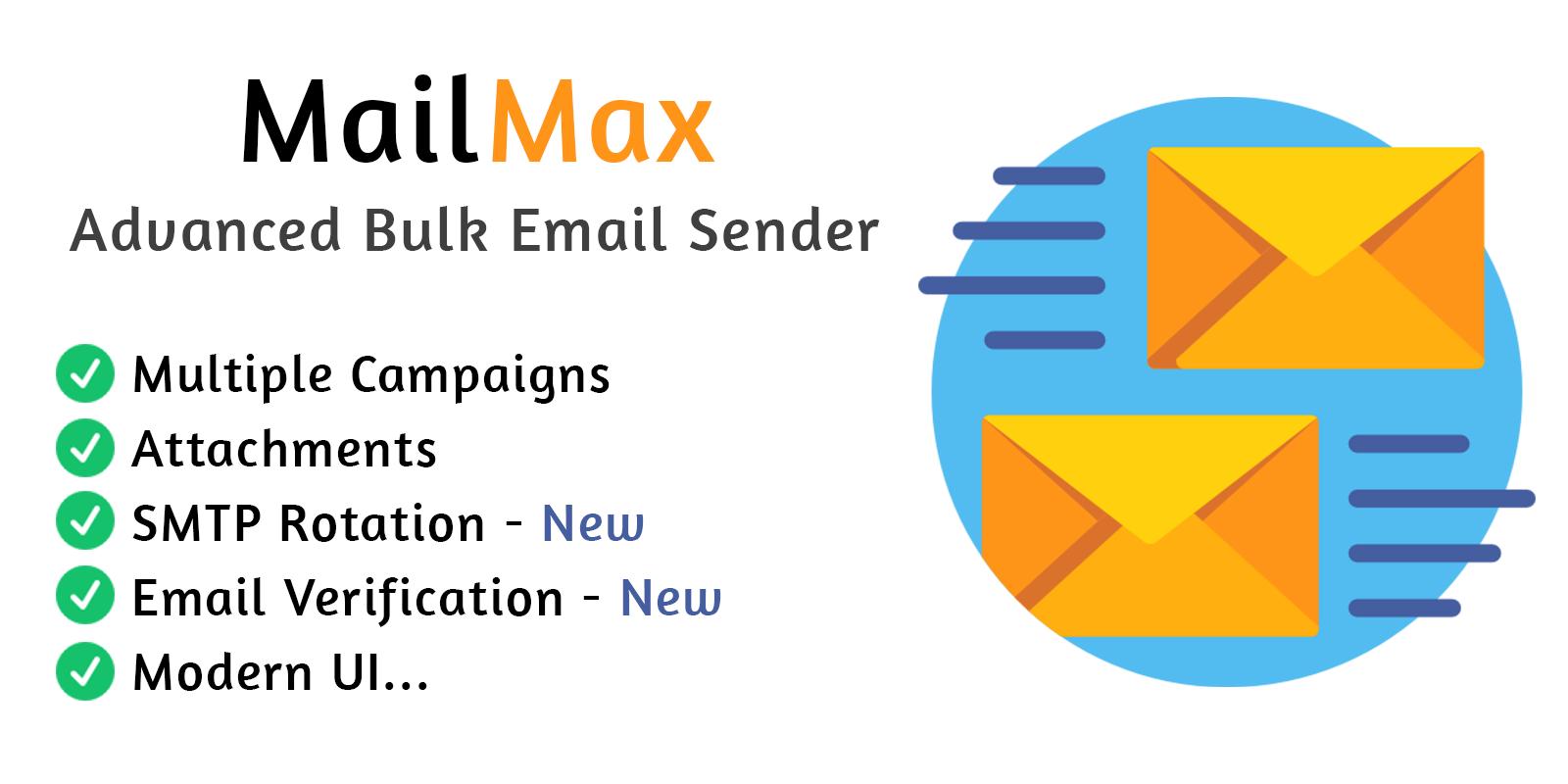 MailMax Advanced Bulk Email Sender