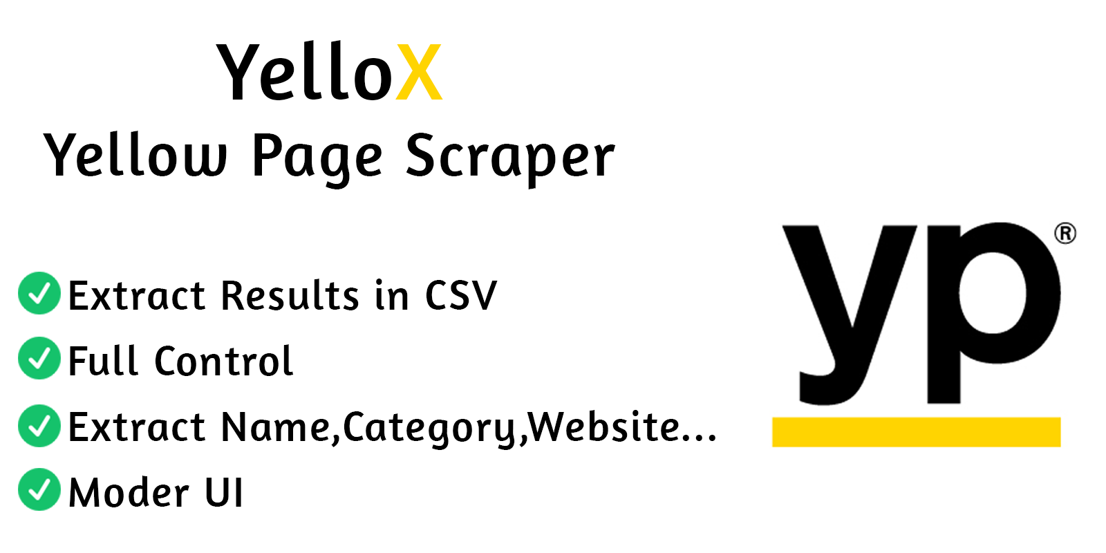 YelloX Yellow Page Scraper PRO