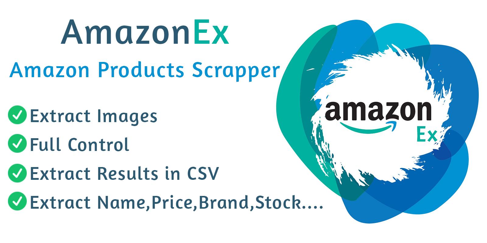 AmazonEx Amazon Products Scrapper