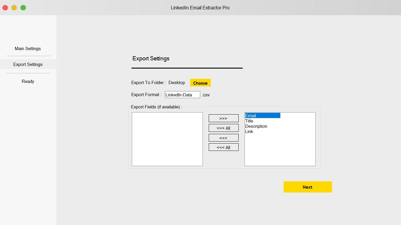 LinkedIn Email Extractor & Scraper