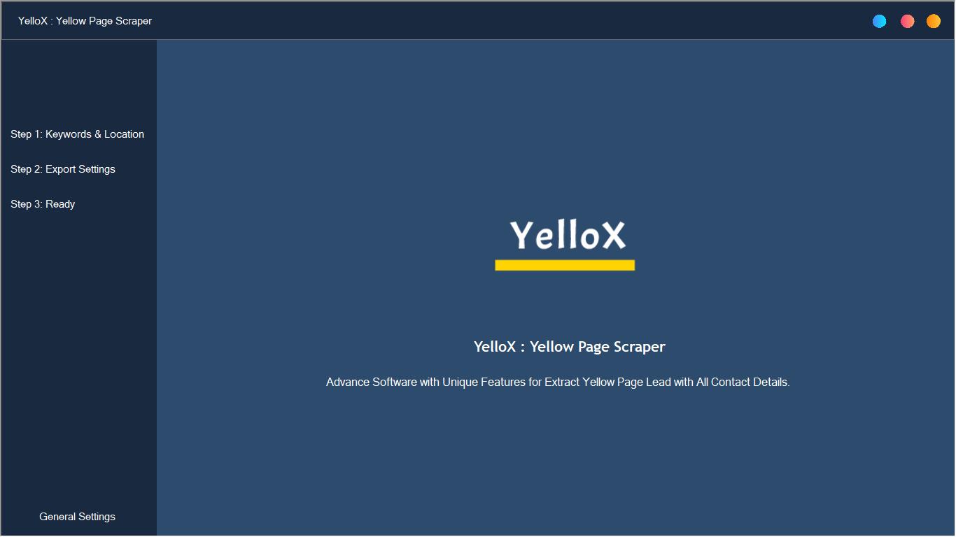 YelloX : Yellow Page Scraper PRO