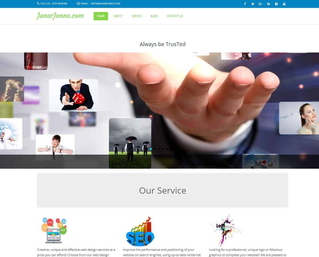 Professional Wordpress Website Responsive & Custom Design