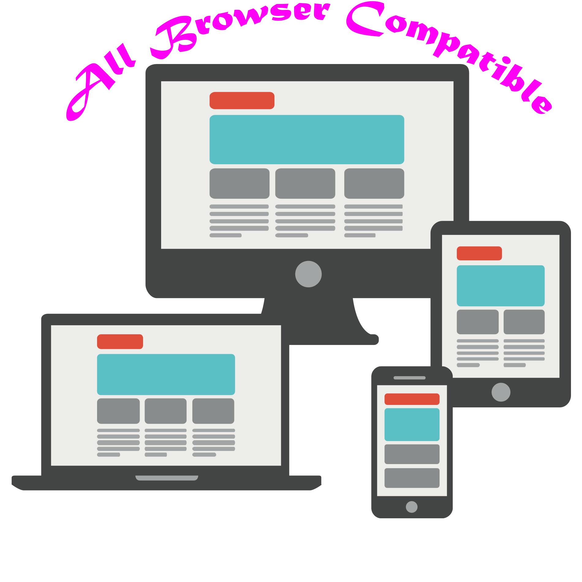 Get Professional Responsive Website.