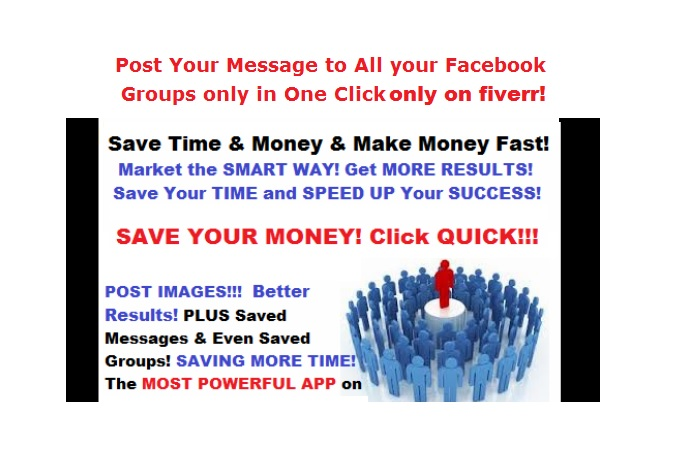 Post in Unlimited Groups With a Single Click Allows you to post to an UNLIMITED groups on Facebook