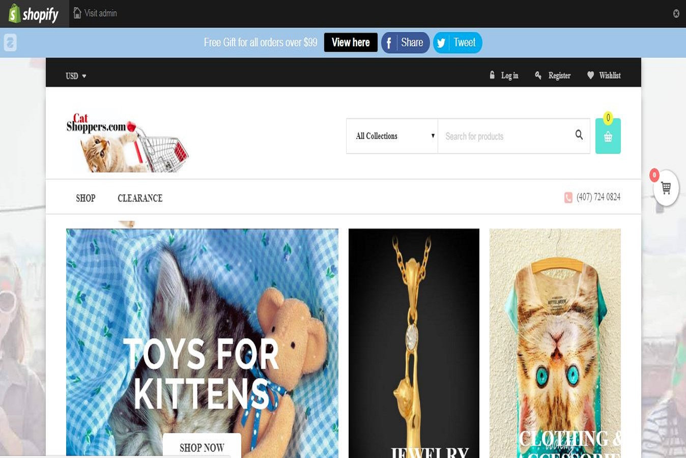 Will register unlimited shopify free trial with premium theme and 12 Top Selling E-Packet Products