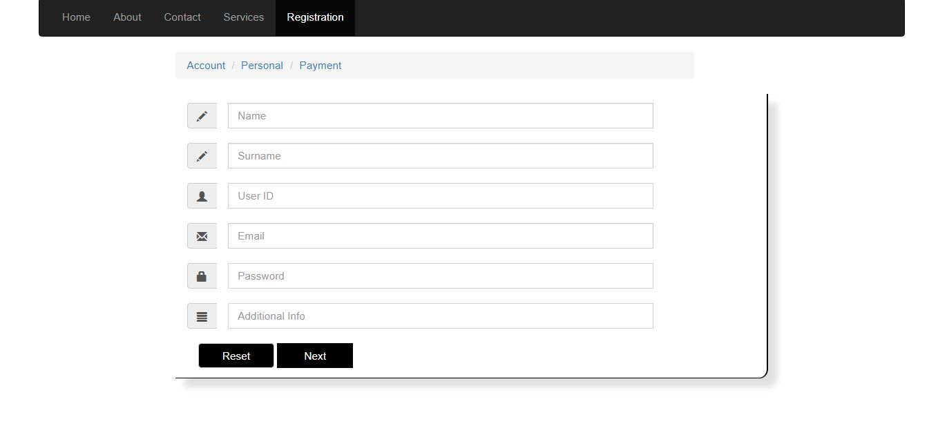Form Bootstrap For 7 Codeclerks