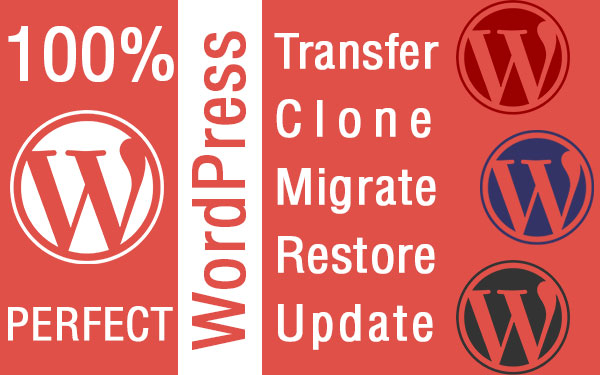 WordPress Hosting Migration/Backup Restore/Clone/Reset User/Password