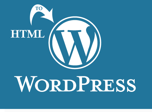 Convert Html to Wordpress Website